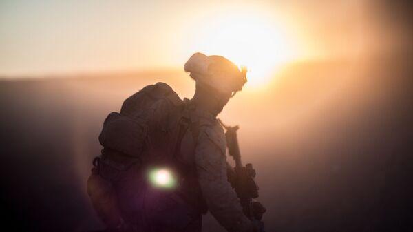 Американский военнослужащий в Сирии