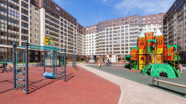 Детская площадка ЖК Солнечный город