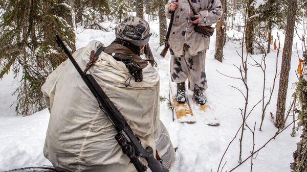 Зимняя охота. Архивное фото