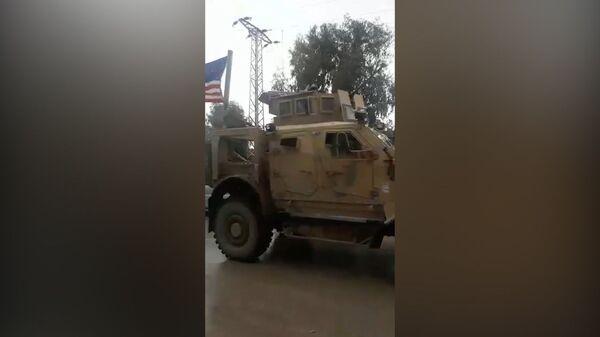 Американские военные продолжают патрулировать улицы Манбиджа