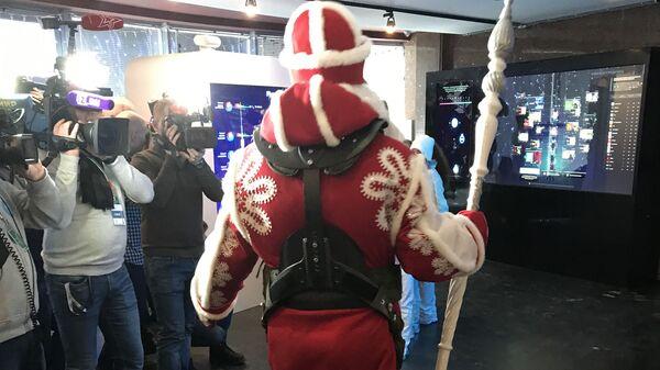Всероссийский Дед Мороз в Останкино
