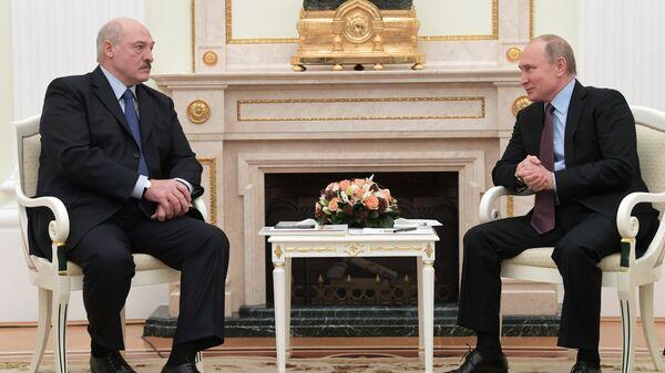 Путин и Лукашенко провели еще один телефонный разговор