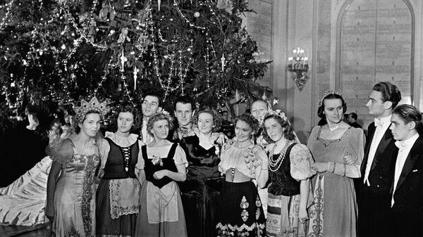 Новогодний бал в Кремле. Москва, 1954 год