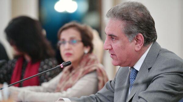 Глава МИД Пакистана Шах Мехмуд Куреши