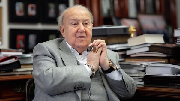 Президент Российской академии художеств Зураб Церетели. Архивное фото