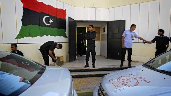 Полиция Ливии