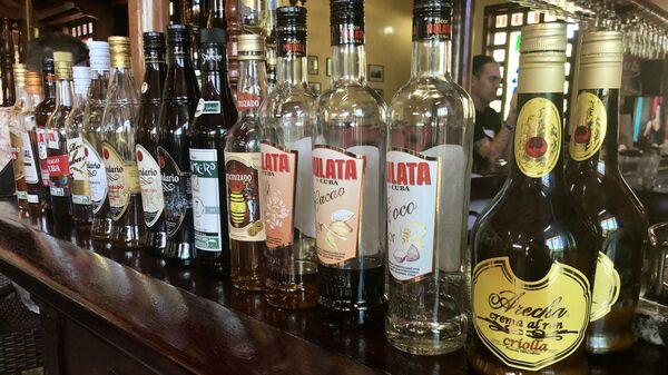 Бутылки рома, Куба