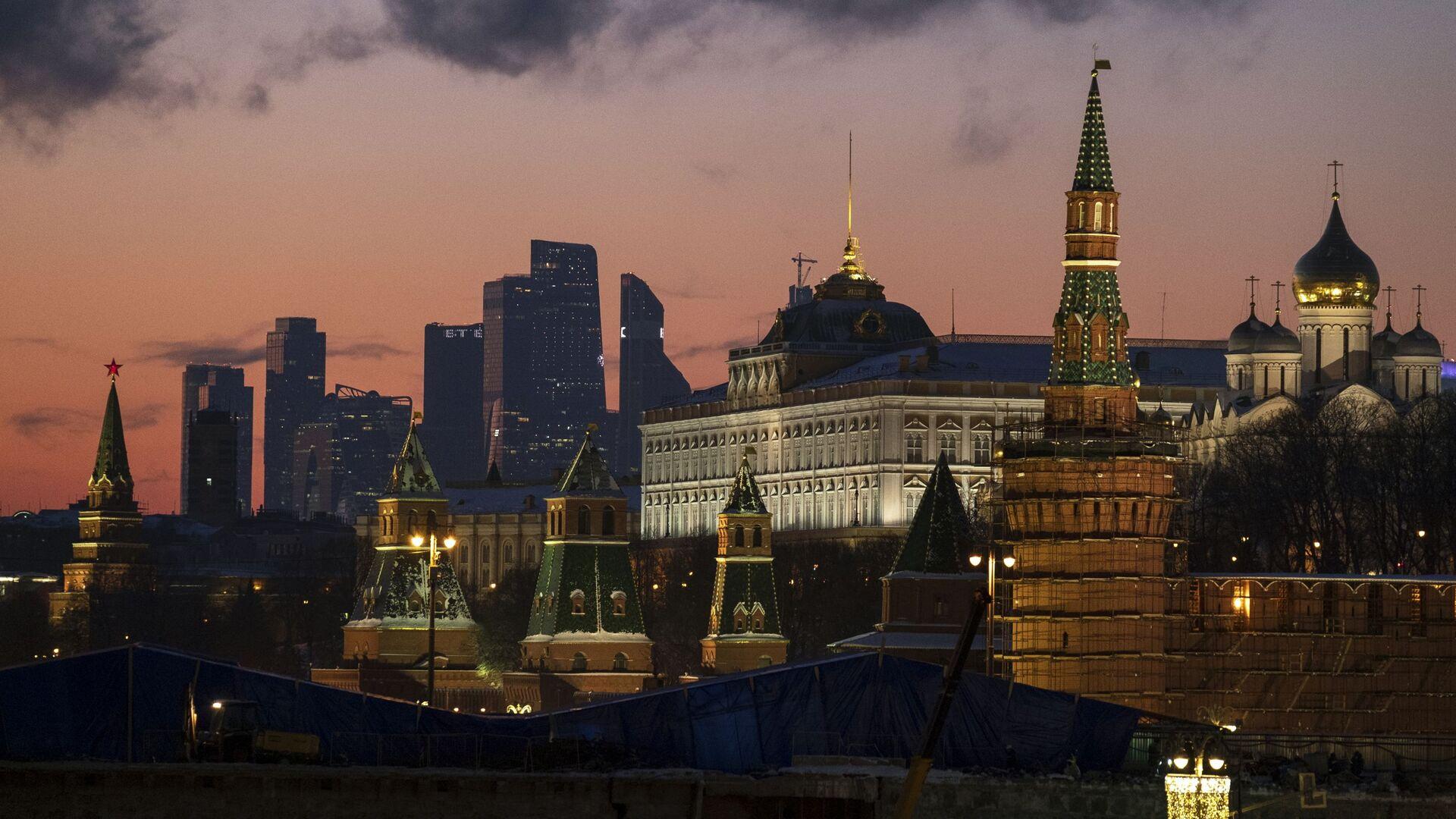 Московский Кремль - РИА Новости, 1920, 18.01.2019