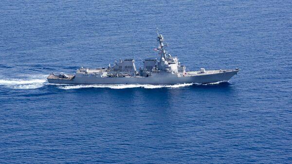 Ракетный эсминец ВМС США Грейвли