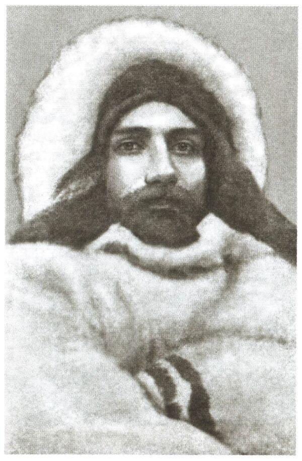 Александр Колчак во время первой зимовки у полуострова Таймыр. 1900/1901 г.