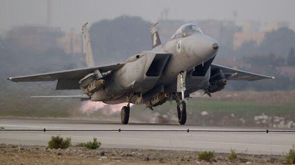 Самолет F-15C Eagle ВВС Израиля