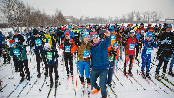 Семейный благотворительный праздник Лыжня 6250 пройдет в Подмосковье