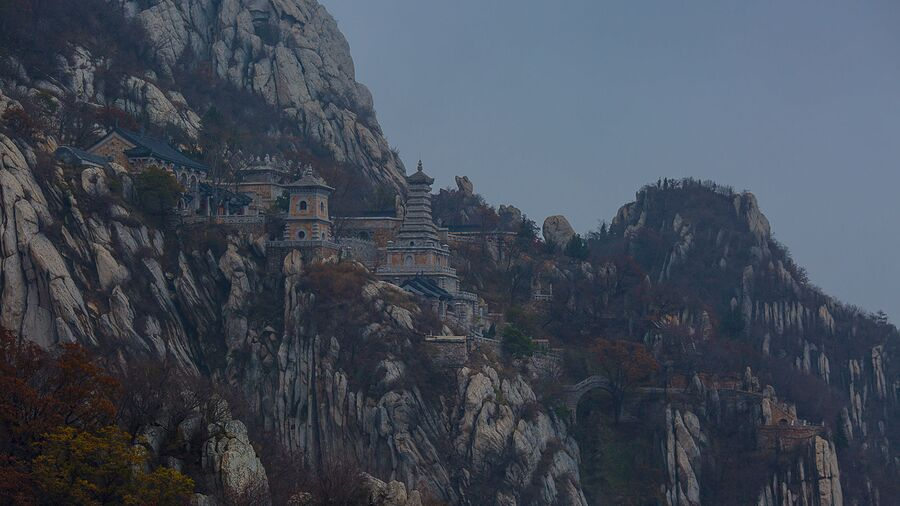 Древний монастырь Шаолинь