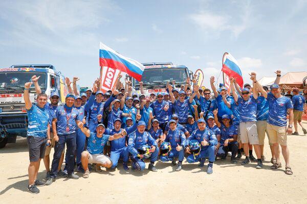 Спортивная команда КАМАЗ-мастер стала победителем ралли-марафона Дакар