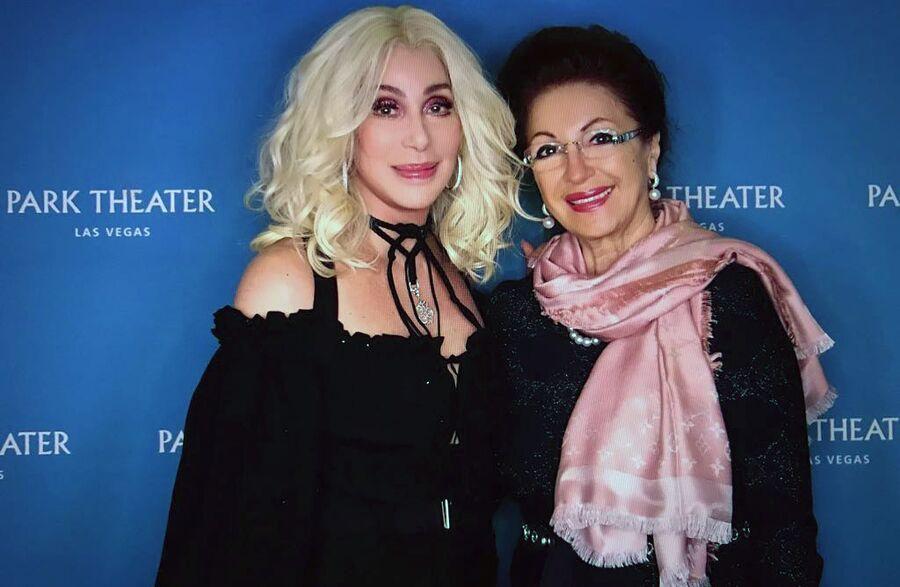 Лейла Адамян с певицей Шер