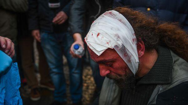 Стрингер агентства Sputnik Греция пострадал в ходе протестов в Афинах