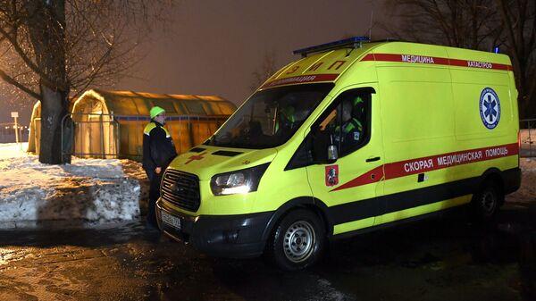 Автомобиль спасательной службы.