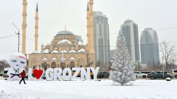 Зима в Грозном