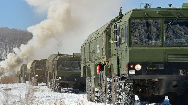 Оперативно-тактические ракетные комплексы Искандер-М