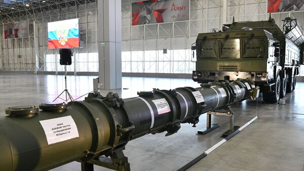 Демонстрация ракеты 9М729 для военных атташе. 23 января 2019