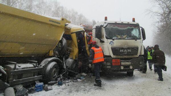 ДТП с бензовозом в Пензе. 24 января 2019