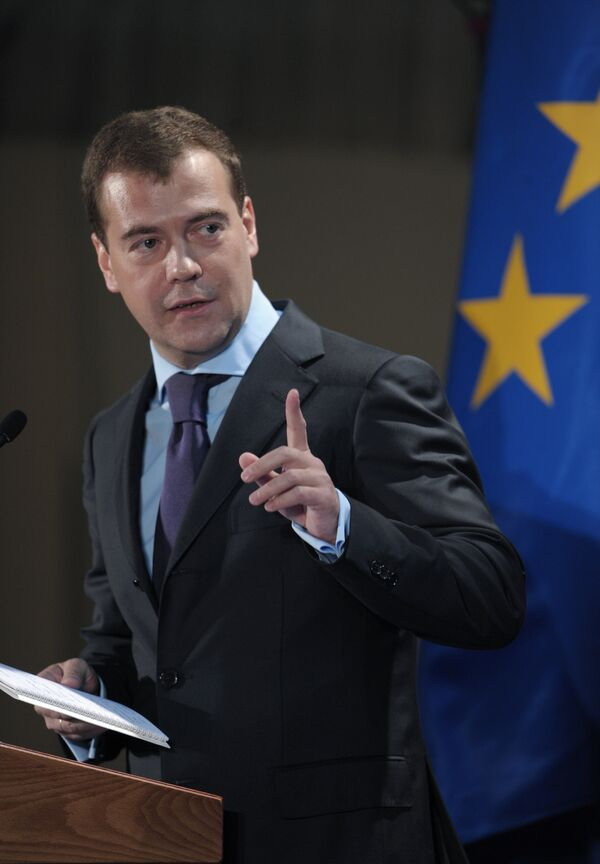 Президент России принял участие в 10-й конференции «круглого стола» промышленников России и ЕС