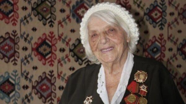 Ветеран Великой Отечественной войны Надежда Михайловна Стратийчук