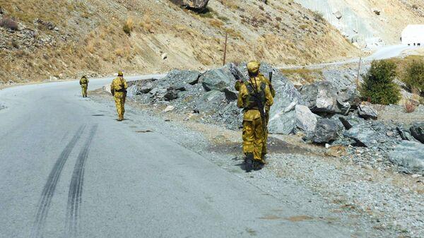 Пограничники в Таджикистане