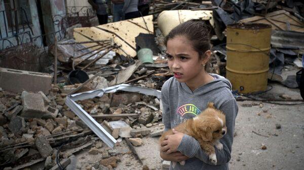 Последствия торнадо в Гаване, Куба