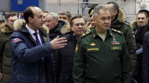 Рабочая поездка министра обороны РФ Сергея Шойгу в Красноярский край