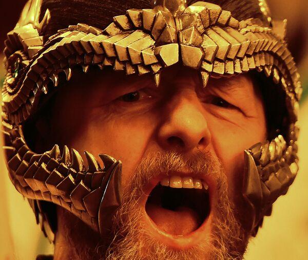 Фестиваль викингов на Шетландских островах