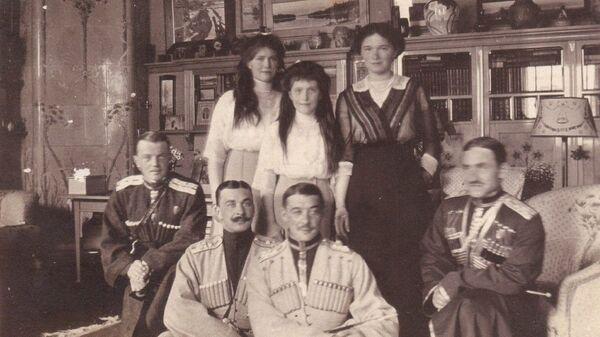 Фотография императорской семьи Николая II