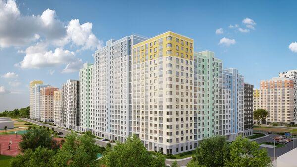 Жилой комплекс Лучи ЛСР на западе Москвы