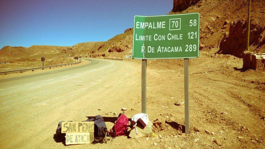 Автостопом через границу Чили и Аргентины