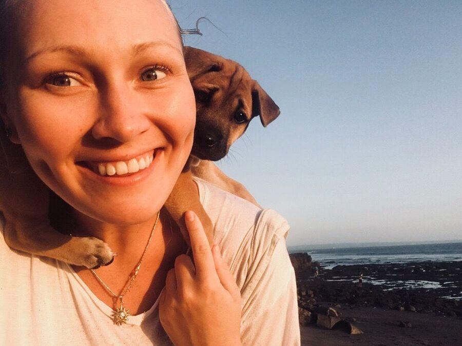 Даша и её пёс. Бали, Индонезия
