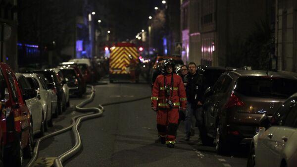 Пожар в 16-м округе Парижа. 5 февраля 2019