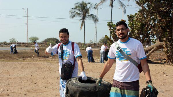 В Южной Америке прошли первые командные соревнования Чистые игры