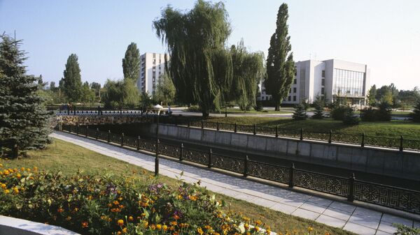 Набережная в Симферополе
