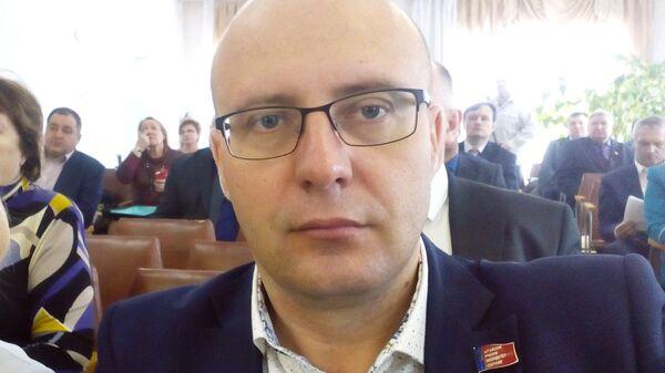 Депутат Алтайского краевого законодательного собрания Владислав Вакаев