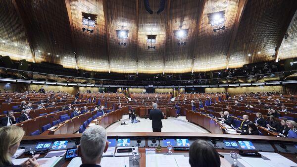 Зимняя сессия Парламентской ассамблеи Совета Европы