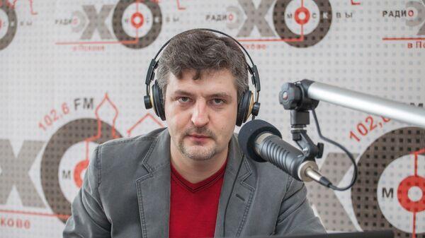 Главный редактор радиостанции Эхо Москвы в Пскове Максим Костиков