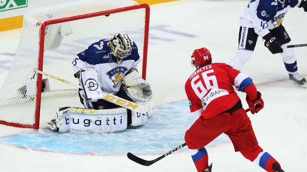 Хоккей. Еврохоккейтур. Матч Россия - Финляндия
