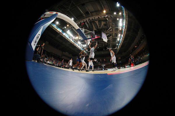 Баскетбол. Евролига. Матч Химки - Жальгирис