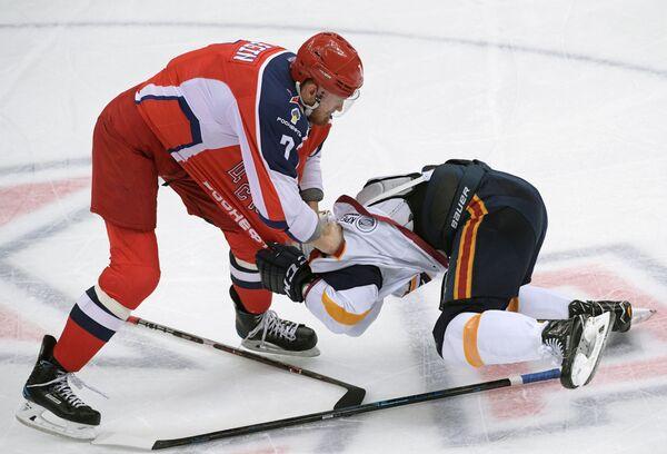 Хоккей. КХЛ. Матч ЦСКА - Металлург