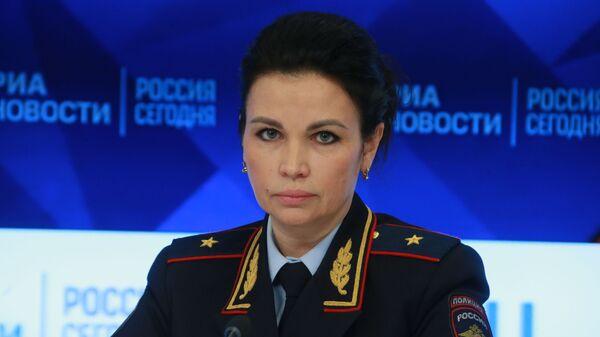 Руководитель ГУВМ МВД России Валентина Казакова в ММПЦ МИА Россия сегодня