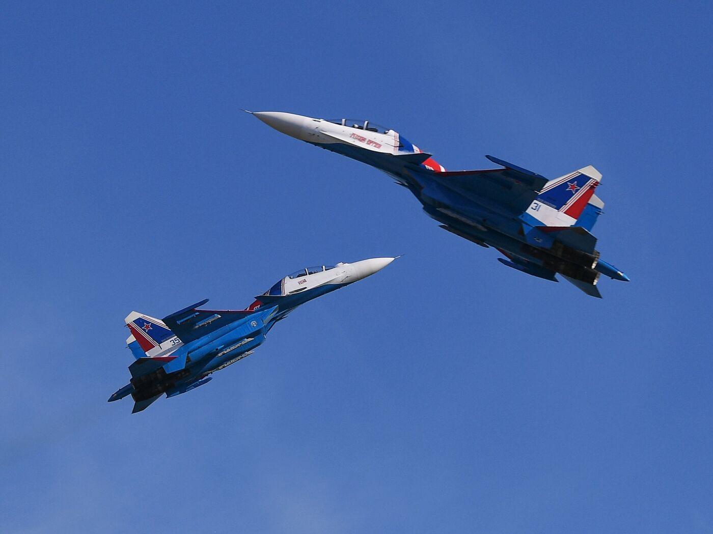 Обои стрижи, истребители, Русские витязи. Авиация foto 16