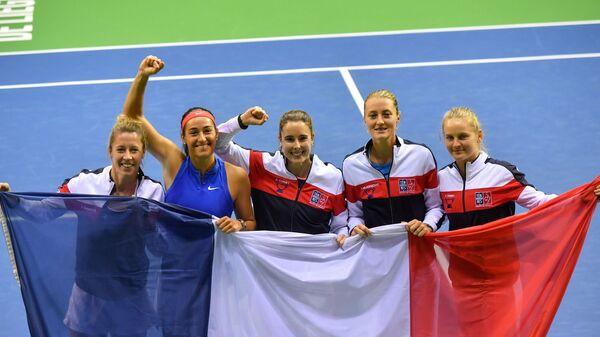Французские теннисистки