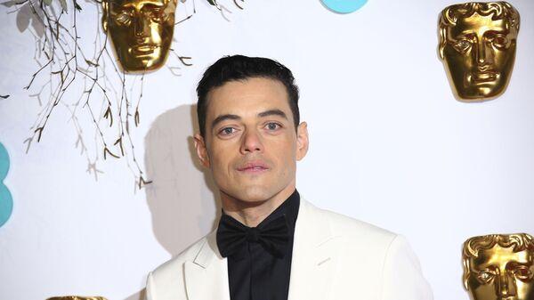 Американский актер Рами Малек на BAFTA-2019