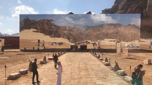 Концертный зал Maraya в Аль-Уле, Саудовская Аравия