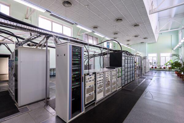 Аппаратная Тульского областного радиотелевизионного передающего центра